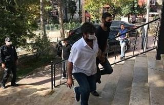 Suç aleti ile yakalan şahıs tutuklandı