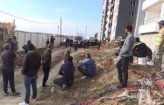 Tekirdağ'da göçük: 1 işçi hayatını kaybetti