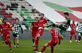 TFF 1. Lig: Bursaspor: 1 - Balıkesirspor: 1 (İlk...