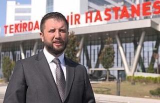 Türkiye'nin batıya açılan sağlık kapısı...