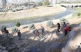 Yumuktepe'de kazılara salgın engeli