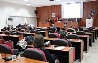 Aydın'da Kadına Yönelik Şiddetle Mücadele toplantısı...
