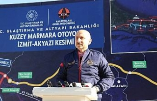 """Bakan Karaismailoğlu: """"321 kilometresi tamamlanan..."""