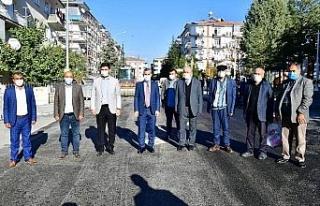 Başkan Çınar, dönüşüm yatırımlarını inceledi