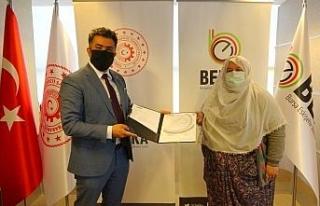 BEBKA'dan Mihalgazi'ye üretim desteği