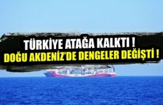 Deniz yetki alanları anlaşması bölgedeki dengeleri...
