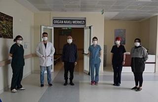 DÜ'de karaciğer nakli gerçekleşti