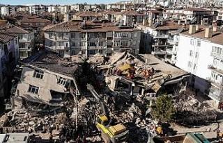 Elazığ'da depreminde 14 kişinin öldüğü Dilek...