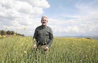 Erdem, kamuda örnek olan tarım projelerini anlattı