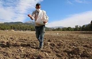 Gündoğmuşlu çiftçiler ekime başladı