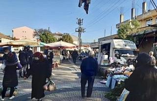 Kalkım'da bir hafta halk pazarı kurulmayacak