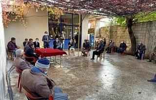 Kaymakam Tugay Yaylımlı köyünde halk toplantısı...
