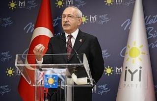 Kemal Kılıçdaroğlu, Meral Akşener'i ziyaret...