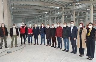 Kızılay'ın Malatya'daki 3 fabrikası 2021'de...