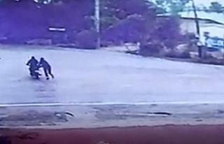Motosiklet hırsızı 35 saat kamera görüntüsü...
