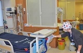Nazilli Devlet Hastanesi'ne yatalak hastalar için...