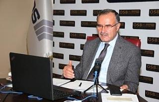 """OSBÜK Başkanı Kütükcü: """"Türkiye'nin geleceği..."""