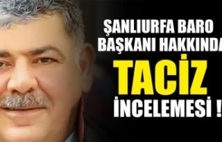 Şanlıurfa Baro Başkanı Abdullah Öncel hakkında...