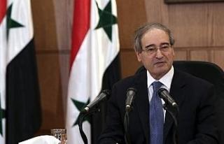 Suriye'nin yeni Dışişleri Bakanı Faisal Mekdad...
