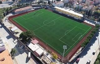 Tavas'a FİFA standartlarına uygun futbol sahası