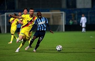 TFF 1. Lig: Adana Demirspor: 0 - Eskişehirspor: 0...