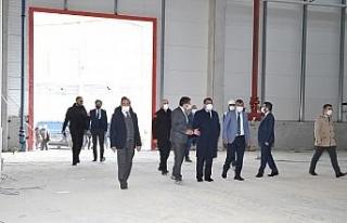 Türkiye'nin en büyük çadır ve tekstil fabrikası...