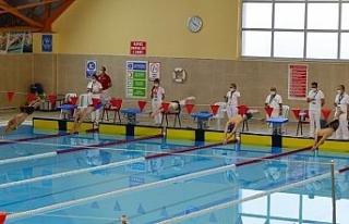 45 ilden 100 sporcu Kırşehir'de, yüzme şampiyonasına...