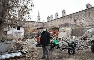 500 yıllık Gön Han'da restorasyon başladı