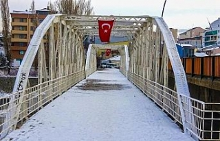 Ardahan'da sokağa çıkma kısıtlamasında cadde...