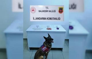 Balıkesir'de uyuşturucu operasyonu 2 şüpheli...