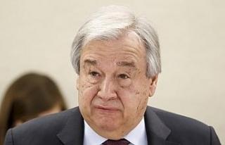 BM Genel Sekreteri Guterres'ten iklim için OHAL...