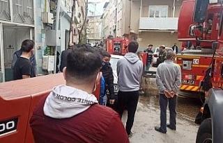 Bursa'da alevlerden daha çok korana tehlike saçtı