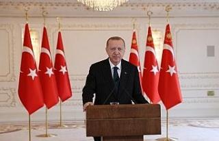 """Cumhurbaşkanı Erdoğan: """"Bizim siyasetimiz,..."""