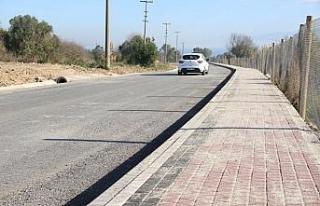 Darıca sahil parkı içindeki yol konforu arttırıldı