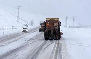 Doğu Anadolu'nun yüksek kesimlerinde kar yağışı