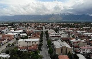 Erzincan'da cadde ve sokaklar sessizliğe büründü