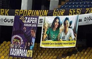 Fenerbahçe, Çınar ve Sayra'yı unutmadı