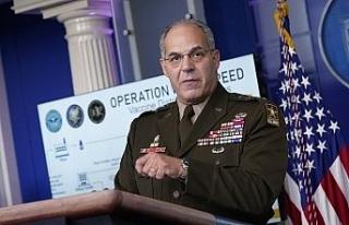 "General Gus Perna: ""Covid-19 aşıları pazartesi..."