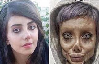 """İranlı """"zombi gelin"""" 10 yıl hapis cezasına..."""