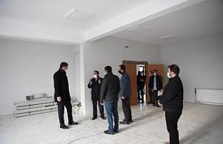 Kartepe'de ek hizmet binası inşaatı hızlandı