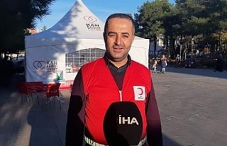 Mardin'de immun plazma bağışında yeterli sayıya...