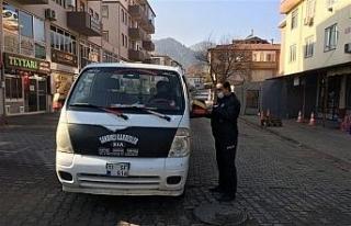 Osmaneli'de polis ekipleri gün boyu denetimde
