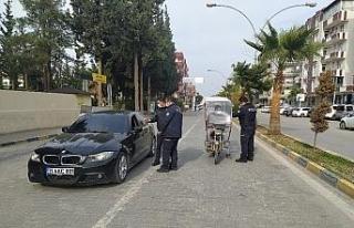 Reyhanlı'da sokağa çıkma kısıtlaması ile...
