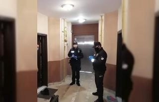 Samsun'da polis ve jandarma 15 bin 617 kişiyi evde...