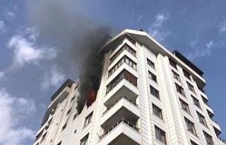 Şanlıurfa´da ev yangını: 1 ölü, 1 yaralı