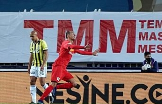 Süper Lig: Fenerbahçe: 0 - Yeni Malatyaspor: 2 (İlk...
