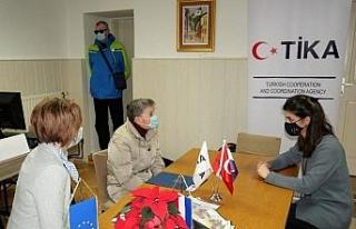 TİKA Hırvatistan'da görme engellilerin yaşamını...