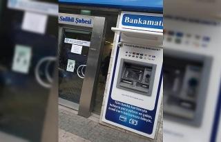 Yasağı ihlal ederek ATM'lere zarar veren şüpheli...