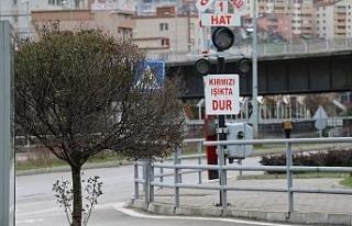 Zonguldak'ta sokaklar boş kaldı