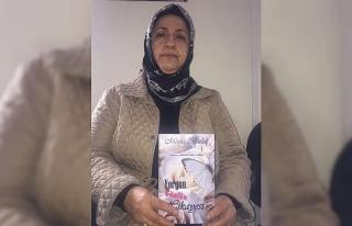 50 yaşındaki ev hanımı Meral Bulut ilk kitabını...